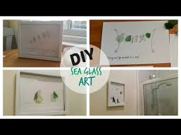 diy sea glass art you