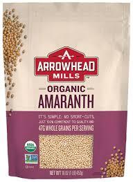 organic amaranth arrowhead mills