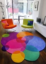 bubbles rug decoración de unas