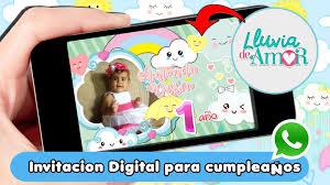Invitaciones Digitales Dinamita Producciones Lluvia De Amor