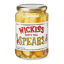 wickles dirty dill pickle spears 24 fl