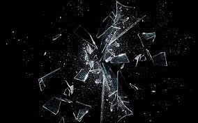 broken glass interpretation and meaning