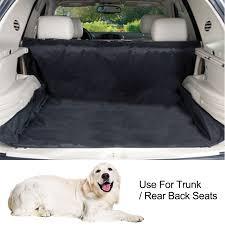 dog car seat cover rear trunk mat