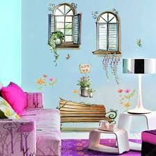 Creative Diy Removable Window Decal Wall Sticker Sale Price Reviews Gearbest
