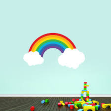 Rainbow Printed Wall Decals Home Decor Wall Decals