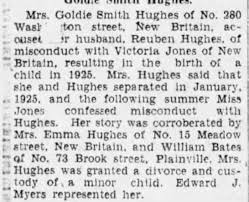 Reuben Hughes and Goldie Smith divorce - Newspapers.com