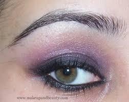 purple black smokey eye tutorial
