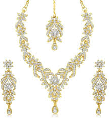 Sukkhi Zinc Jewel Set Price in India - Buy Sukkhi Zinc Jewel Set Online at  Best Prices in India | Flipkart.com