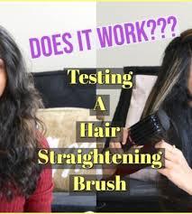 Fast Brush Hair Straightener   Curly Hair Review   lovekenziie   Fashion  Tips & Guides