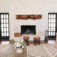 farmhouse family room with painted