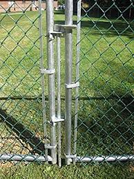 Amazon Com Residential Drop Pin 1 3 8 For Double Drive Gates Chain Link Home Improvement