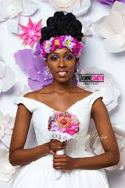 BN Bridal Beauty: Regal Natural Wedding Hair Looks by Dionne Smith ...