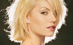 Blonde Elisha Cuthbert wallpaper | Elisha cuthbert, Short hair styles,  Growing out short hair styles