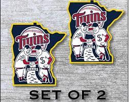 Minnesota Twins Stickers Etsy