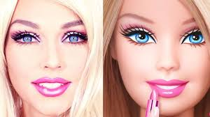 barbie doll makeup transformation how
