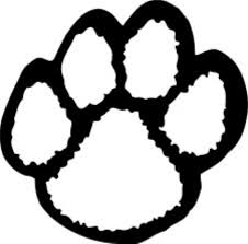Large Paw Print Wall Sticker Removable Wall Decals