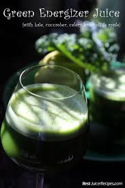 green juice energizing green vegetable