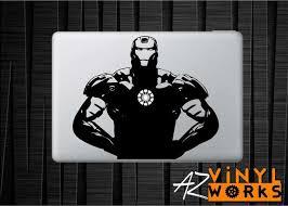 Iron Man Stance Marvel Vinyl Decal For Mac Azvinylworks