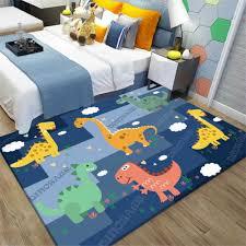 European And American Jurassic 3d Dinosar Decoration Big Carpets Living Room Area Rug Soft Flannel Boys Gift Carpet Mats Rugs Carpet Aliexpress