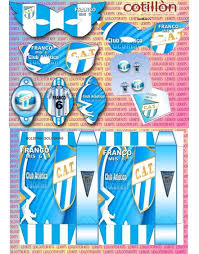 Kits Imprimibles Atletico De Tucuman 27 00 En Mercado Libre