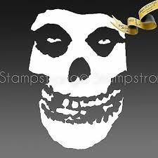 2 Inch Tall Misfits Skull Vinyl Decal Sticker Die Cut 060 Ebay
