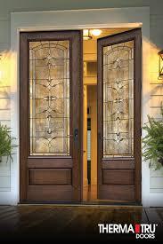 mahogany collection fiberglass doors