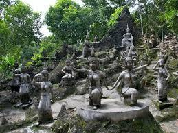 secret buddha garden in ko samui