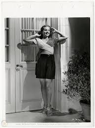 Vintage '40 Wanda McKay Fashionable Pin-Up Sweater Girl Keybook Still  Photograph   #1912491552