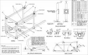 homemade snowmobile lift plans