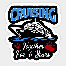 cruising together for 6 years shirt 6th