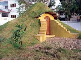 low cost multipurpose earthbag building