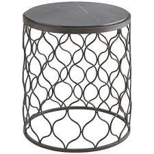 tremont black end table