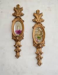 mirror candle candelabra wall sconces
