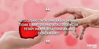 kata kata mutiara ketulusan cinta hati dan kasih sayang