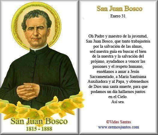 """Resultado de imagen para San JUan Bosco"""""""