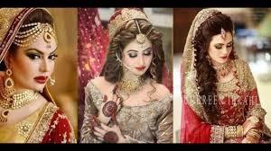 bridal makeup and dresses
