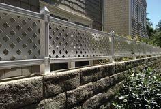 16 X 4 Fence Topper Extension Kit Lattice Ready Lattice Fence Panels Lattice Fence Fence Toppers