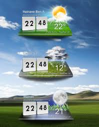 lg optimus weather xwidget