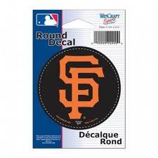 San Francisco Giants 3x3 Round Vinyl Sticker At Sticker Shoppe