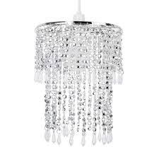 modern sparkling chrome acrylic crystal