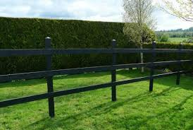 Maintenance Free Recycled Plastic Fencing Irish Recycled Products