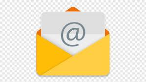 Angle brand material yellow, Email, email icon free png | PNGFuel