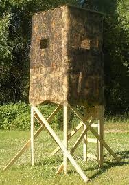 box deer hunting blind building plans