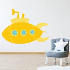 Yellow Submarine Wall Decal Sticker Wall Decal Sticker Ws 41103 Ebay