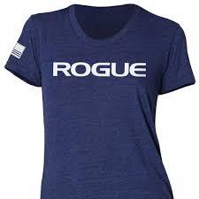rogue women s basic shirt blue