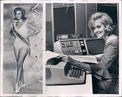 1965 Beauty Miss USA Bobbi Johnson Model Hollywood Engineer GE ...