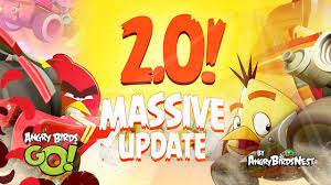 MASSIVE UPDATE - Angry Birds GO 2.0 First Look - iOS, iPad ...