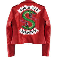 red south side serpent jacket i made