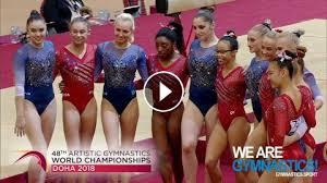 2018 artistic worlds women s team