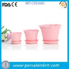 china pink large bulk clay garden